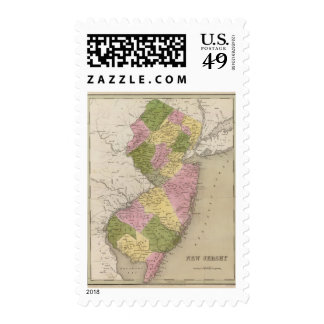 New Jersey 16 Postage Stamps