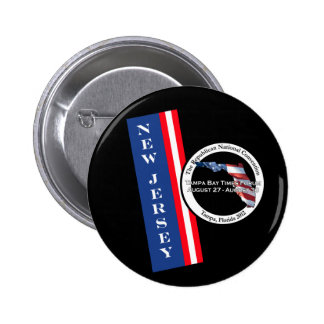 New Jersey 2012 Republican Convention Pinback Buttons
