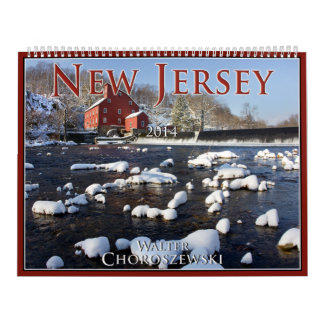 New Jersey 2014 - Gualterio Choroszewski Calendarios De Pared
