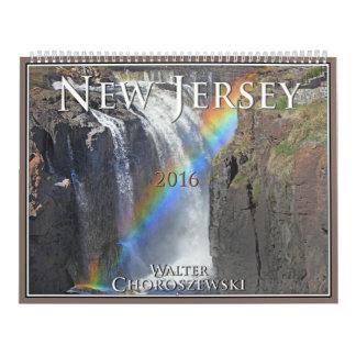 NEW JERSEY 2016 - Walter Choroszewski - Calendar
