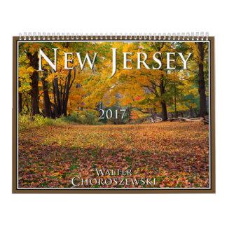 NEW JERSEY 2017 | Walter Choroszewski Calendar