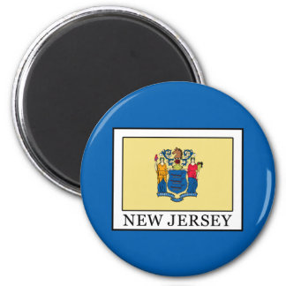 New Jersey 2 Inch Round Magnet
