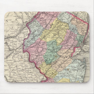 New Jersey 2 Mouse Pad