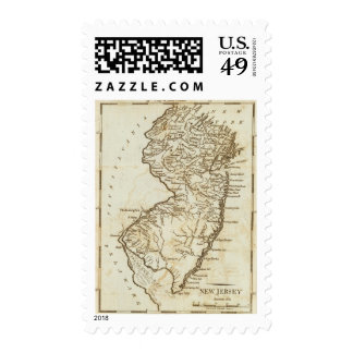 New Jersey 2 Postage Stamp