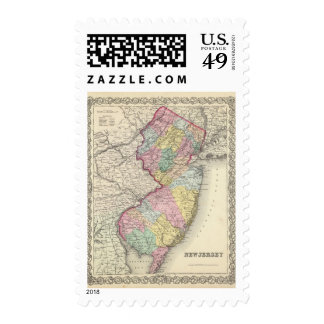 New Jersey 2 Stamp