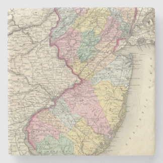 New Jersey 2 Stone Coaster