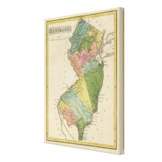 New Jersey 3 Impresión En Lienzo Estirada