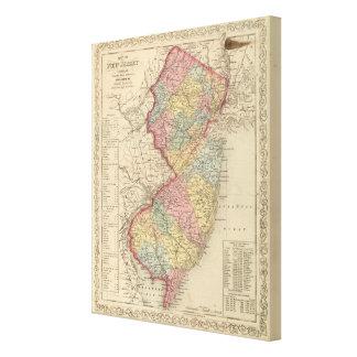 New Jersey 4 Lona Estirada Galerías