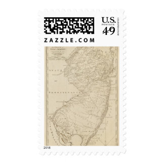New Jersey 8 Postage Stamp