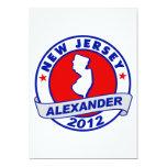 New Jersey Alexander Invitación 12,7 X 17,8 Cm