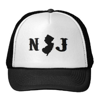 'NEW JERSEY ALL DAY' NJ MESH HATS