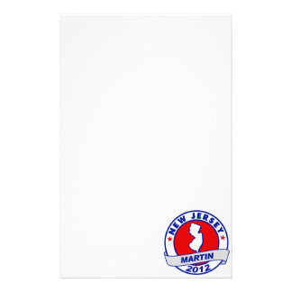 New Jersey Andy Martin Stationery Paper