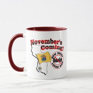 New Jersey Anti ObamaCare – November's Coming! Mug