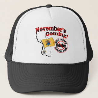 New Jersey Anti ObamaCare – November's Coming! Trucker Hat