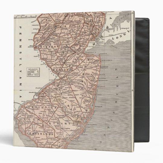 New Jersey Atlas Map Binder