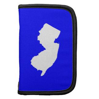 New Jersey azul y blanco Organizadores