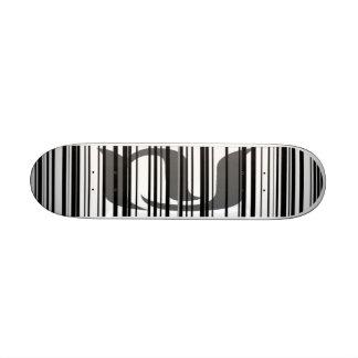 New Jersey BarCode Skate Board