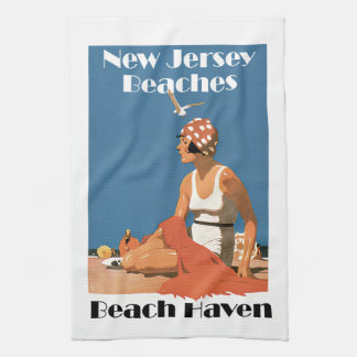 New Jersey Beaches ~ Beach Haven Hand Towel