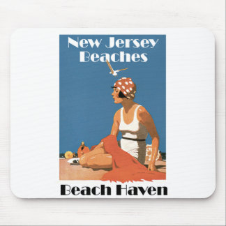 New Jersey Beaches ~ Beach Haven Mouse Pad