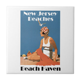 New Jersey Beaches ~ Beach Haven Tile
