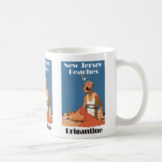 New Jersey Beaches ~ Brigantine Coffee Mug
