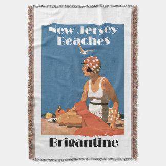 New Jersey Beaches ~ Brigantine Throw
