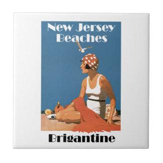 New Jersey Beaches ~ Brigantine Tile
