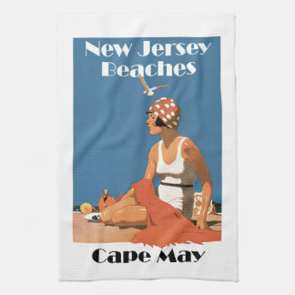 New Jersey Beaches ~ Cape May Hand Towel