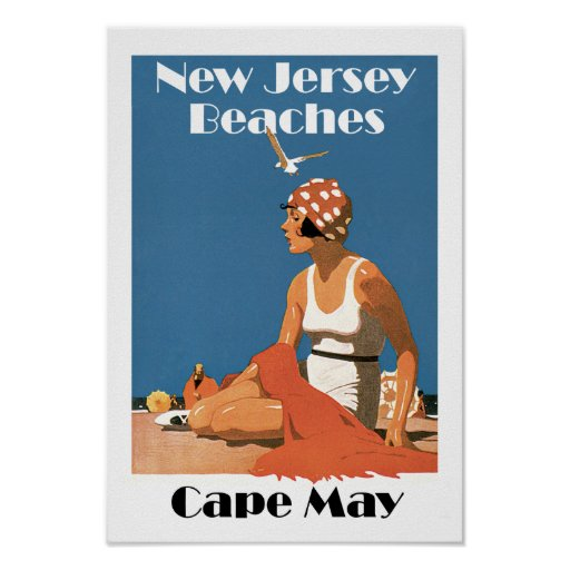 New Jersey Beaches ~ Cape May Posters