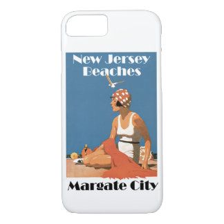 New Jersey Beaches ~ Margate City iPhone 7 Case