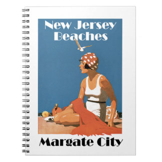New Jersey Beaches ~ Margate City Notebook