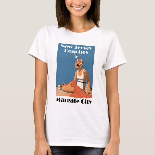 New Jersey Beaches ~ Margate City T-Shirt