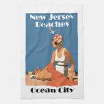 New Jersey Beaches ~ Ocean City Kitchen Towels