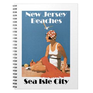 New Jersey Beaches ~ Sea Isle City Notebook