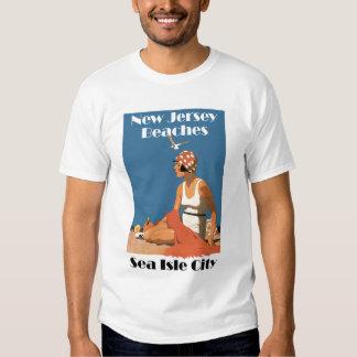 New Jersey Beaches ~ Sea Isle City T-shirt