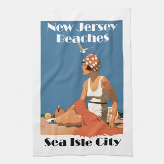 New Jersey Beaches ~ Sea Isle City Towel