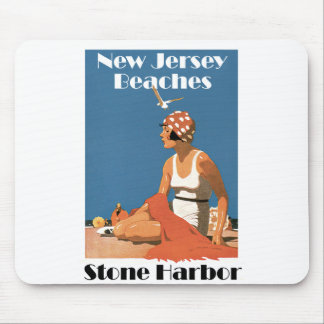 New Jersey Beaches ~ Stone Harbor Mouse Pad