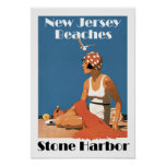 New Jersey Beaches ~ Stone Harbor Posters