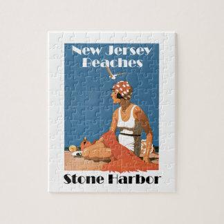 New Jersey Beaches ~ Stone Harbor Jigsaw Puzzles