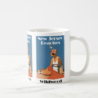 New Jersey Beaches ~ Wildwood Coffee Mug