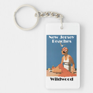 New Jersey Beaches ~ Wildwood Keychain