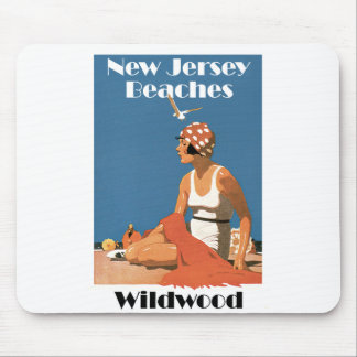 New Jersey Beaches ~ Wildwood Mouse Pad