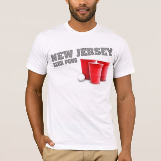 New Jersey Beer Pong T-Shirt