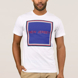 New Jersey Blue Square T-Shirt