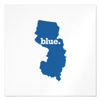 NEW JERSEY BLUE STATE MAGNETIC INVITATIONS