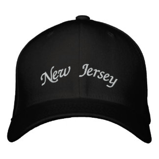 New Jersey bordó el gorra Gorro Bordado