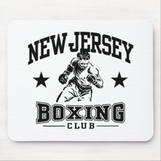 New Jersey Boxing Mouse Pad