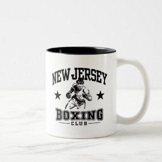 New Jersey Boxing Two-Tone Coffee Mug