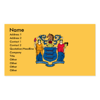 NEW JERSEY Business Cards