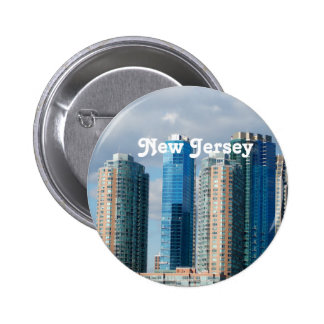 New Jersey Pinback Button